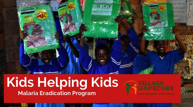 Kids Helping Kids ~ Malaria Eradication Program