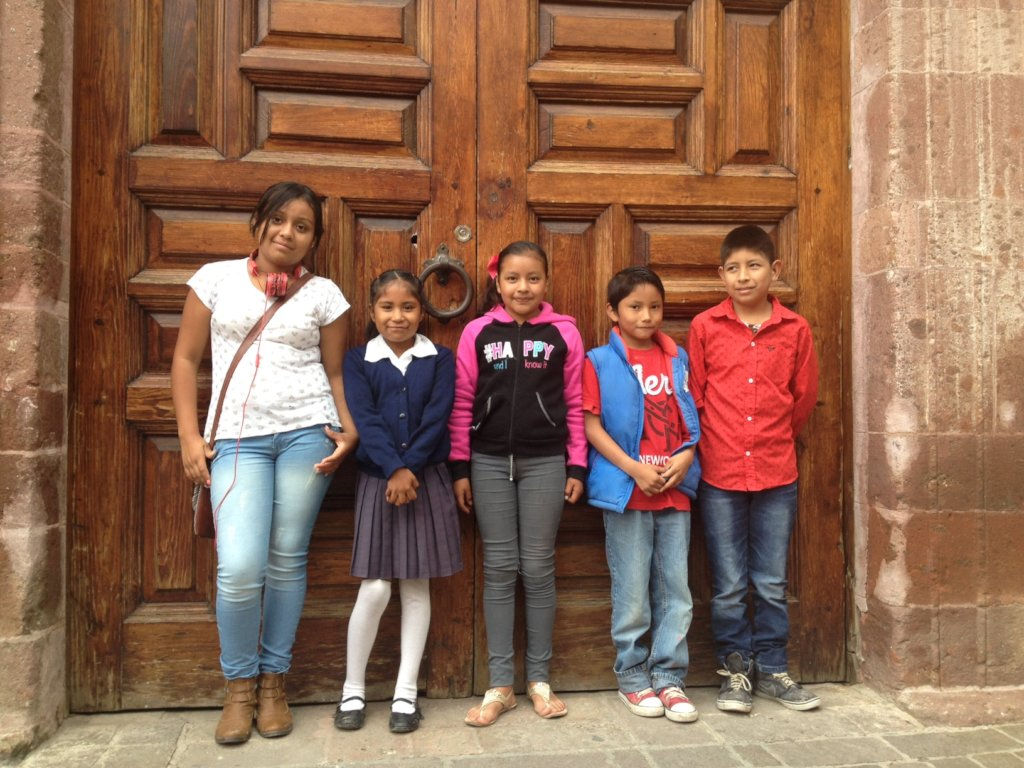 Outreach reading projects for rural Mexican kids.