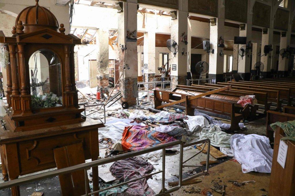 Relief for SriLanka Bombing Victim
