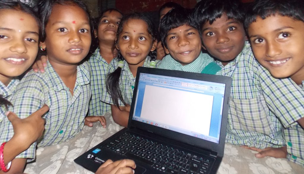 Computer Education for 345 Rural and Tribal Youths
