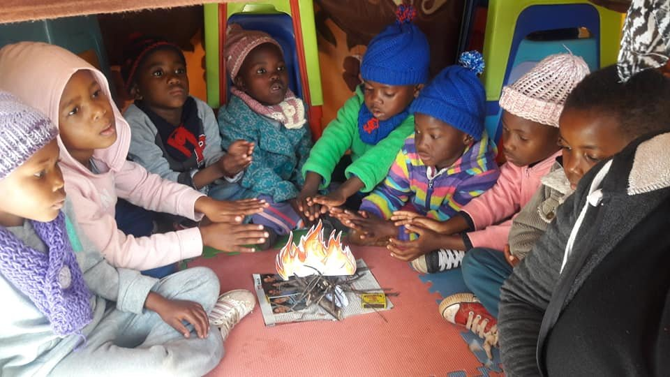 Winter has come... Help 55 children survive winter