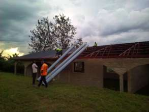 Roofing building #2