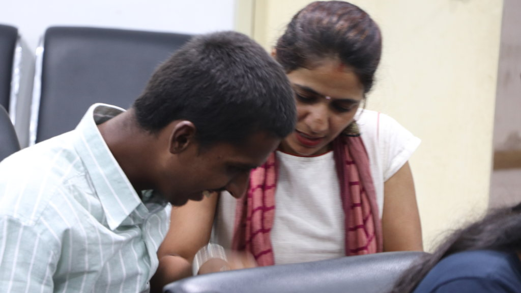 Help blind children use computer with braille