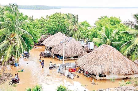Flood Relief for 200 families in Godawari, India