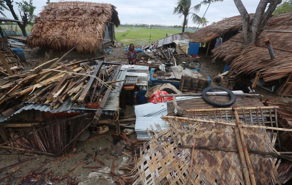 Relief for 500 Cyclone affected Communities- India