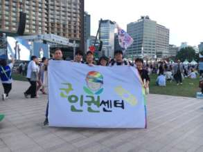 Working Staff after the Seoul Queer Festival 2019