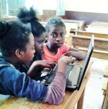 teaching computer undepriviledged children