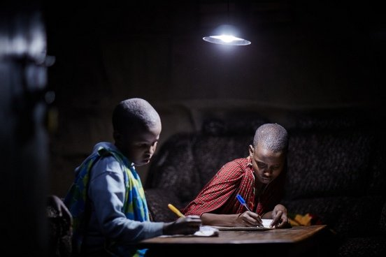 SAFE BUSURA FROM DARKNESS WITH SOLAR POWER