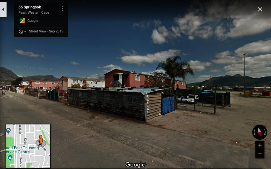 Fruit Trees for the Poor -Paarl East, South Africa