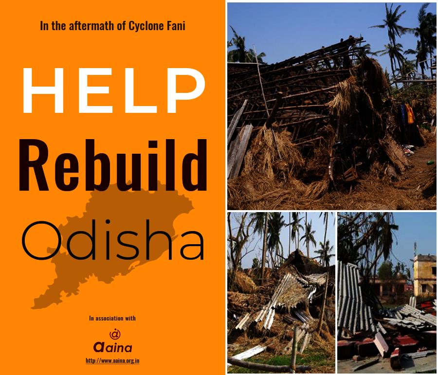 Cyclone Fani Aftermath - Help Rebuild Odisha