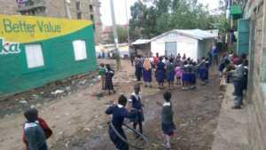 St Benedict's area, Mathare Slum Kenya