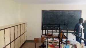St Benedict's School of Hope classroom in progress