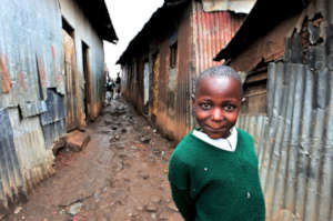 Young student in Mathare
