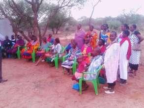 Mothers' of our Kajiado SoH students