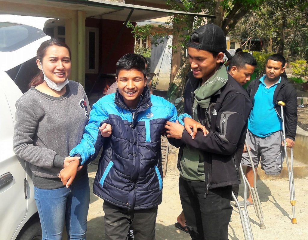 Medical care & rehabilitation changing lives Nepal
