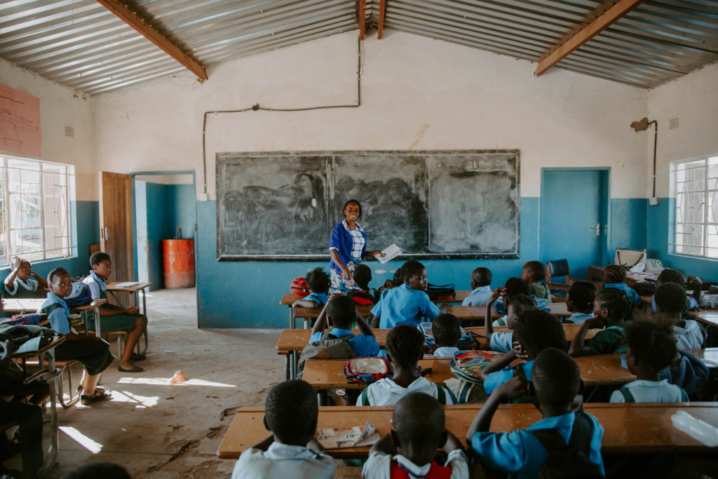 Build 2 Classrooms for 80 Students in Zambia