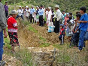Centeotl Group visiting El Pedregal