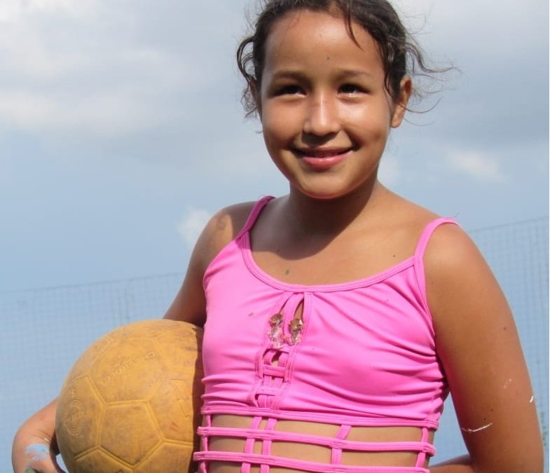 Give 650 children in Colombia a safe place to play