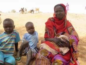 New babies now bring joy in Darfur