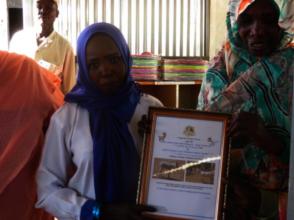 Munira Graduates Second in her Class!