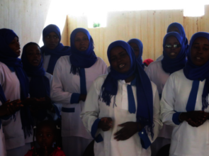 New Midwives Singing at December's Graduation!