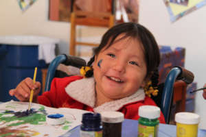 Education of poor disabled Children in Peru