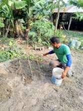 Sudarshan and his nursery