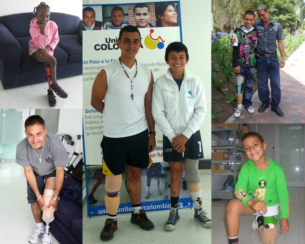 Give Prostheses to 35 Maimed Colombian War Victims