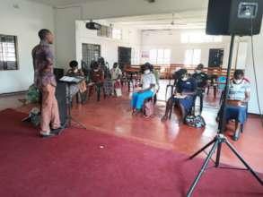 Ndeipi training under Covid precautions