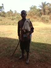 Abdullai as a herdsman working to increase income