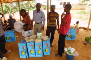 SHI providing loans in the form of farm inputs