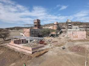 Constructions at the new Campus