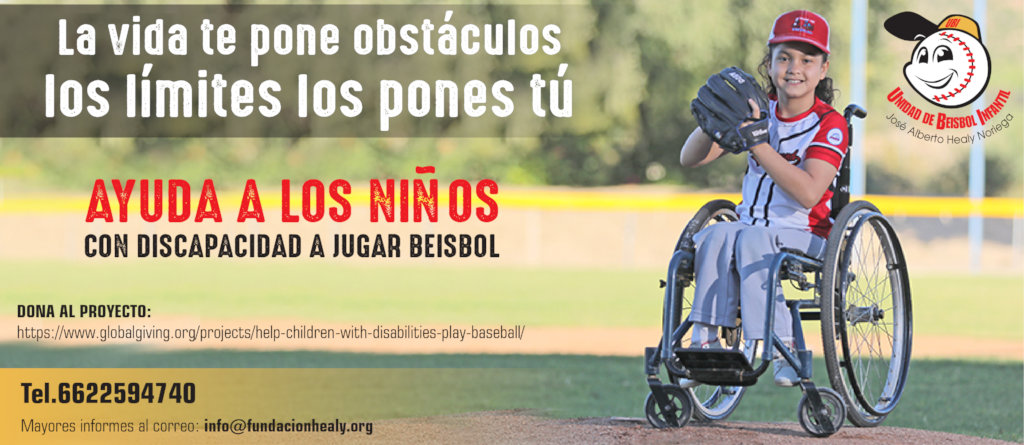 Help children with disabilities play baseball