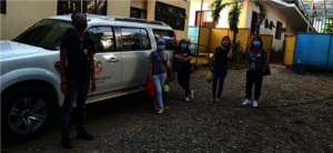 Transport provided to House of Hope staff