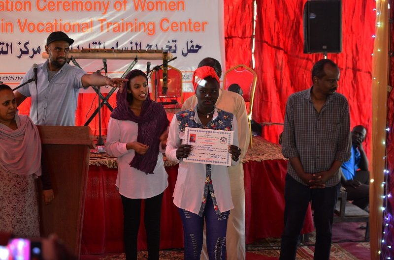 Vocational Training for 150 poor Girls in Sudan