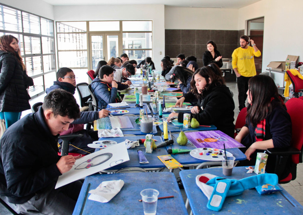 Stimulation Therapy for 250 People w/ID in Chile