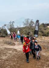 Families Trekking