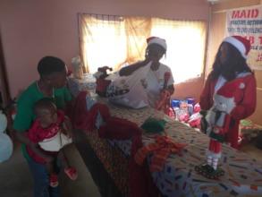 Santa at the Centre