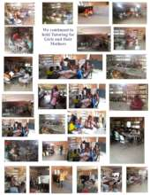 A Collage of Tutoring Sessions