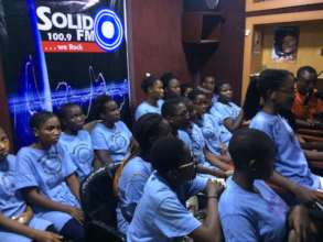 Maid Strong Girls at A Radio Programme