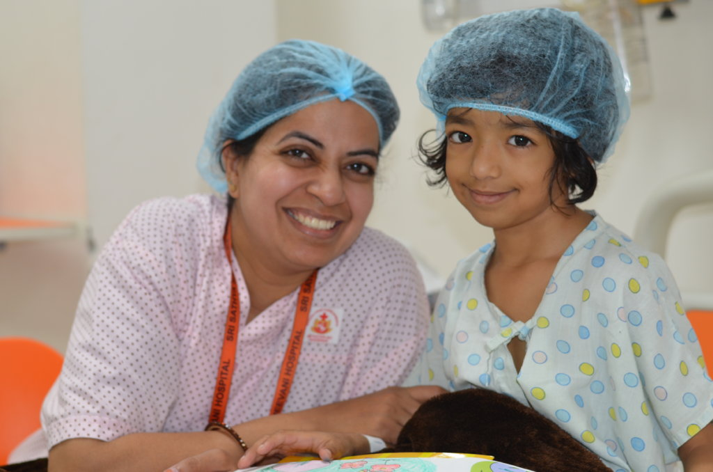 Saving 50 Little Hearts from India