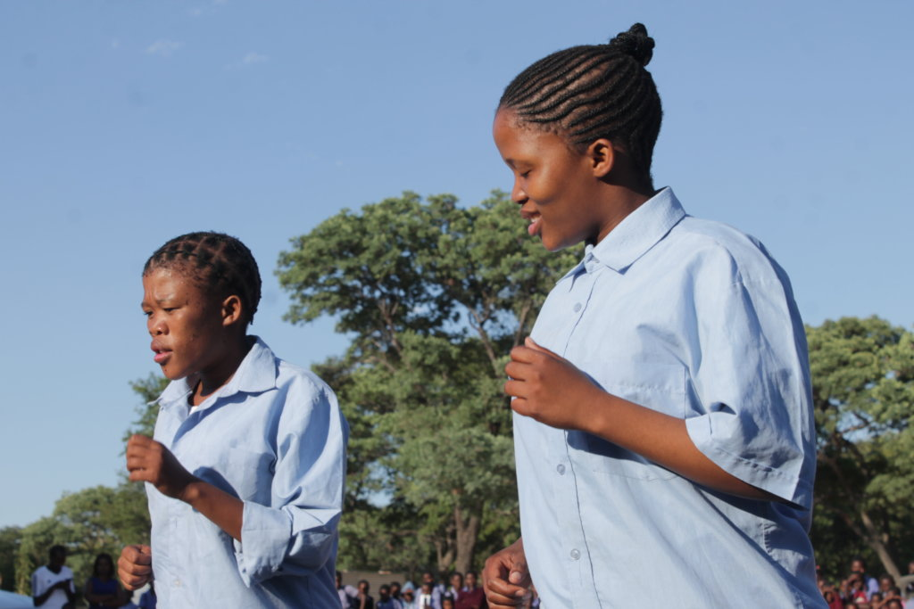 Educate 5,000 Namibian teenagers on HIV using Arts