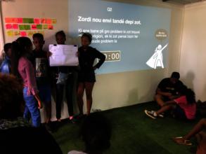 Juniors' changemaking ideas