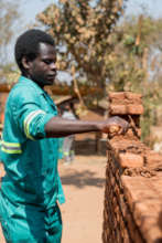 Gerald, Bricklaying and Construction