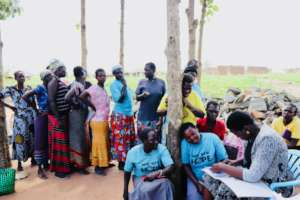 Loan disbursement in post-war villages