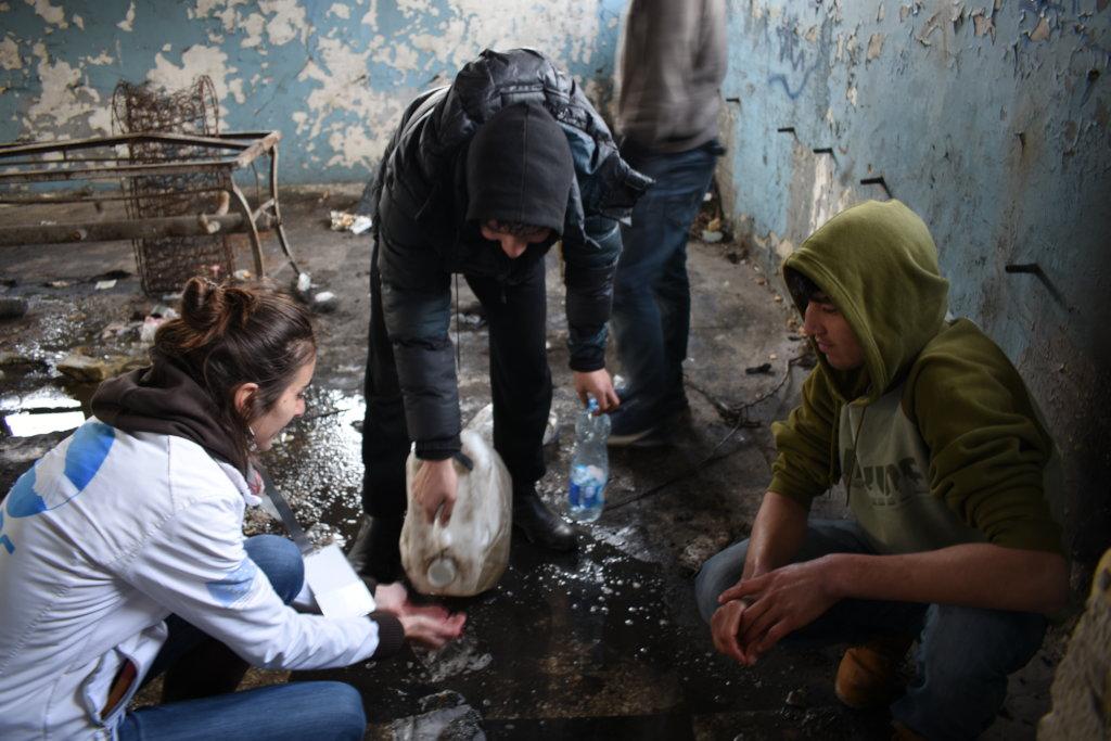 Save 136 refugee children along EU-Serbia borders