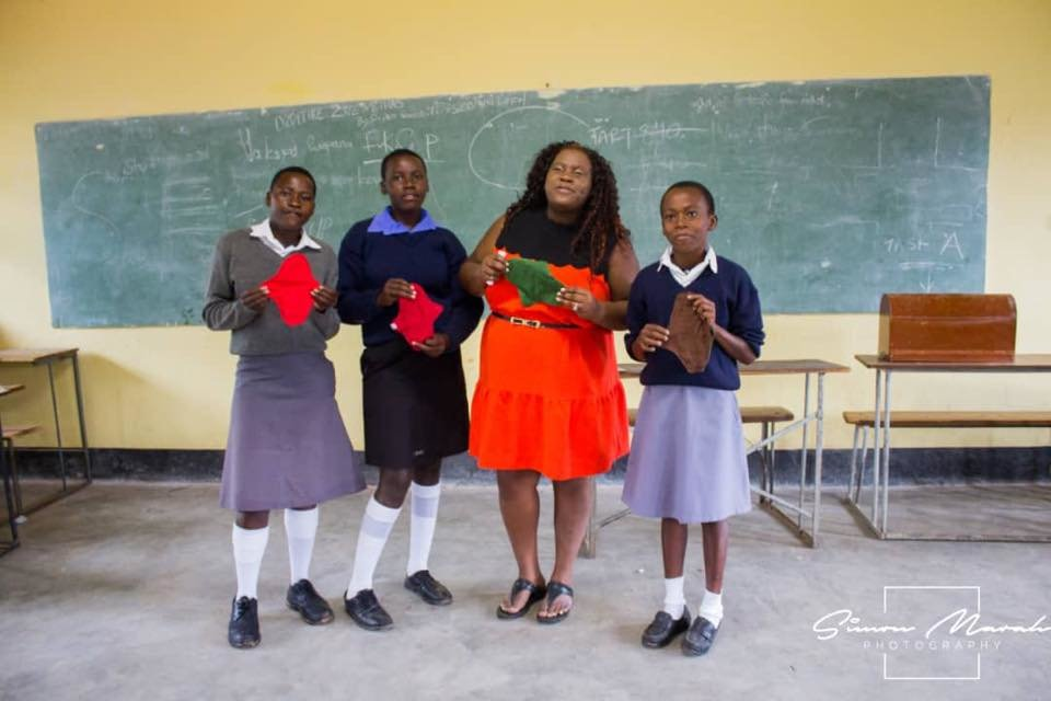 Removing the Shame in Menstrual Cycle , Zimbabwe