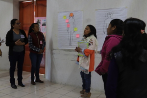 Working to care for women human rights defenders