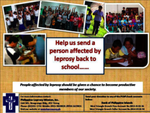 Help Send a Person Affected by Leprosy