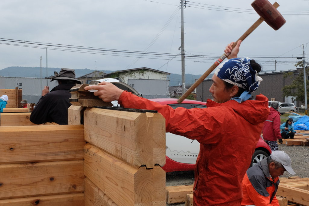 Passing the support - From Fukushikma to Nepal -
